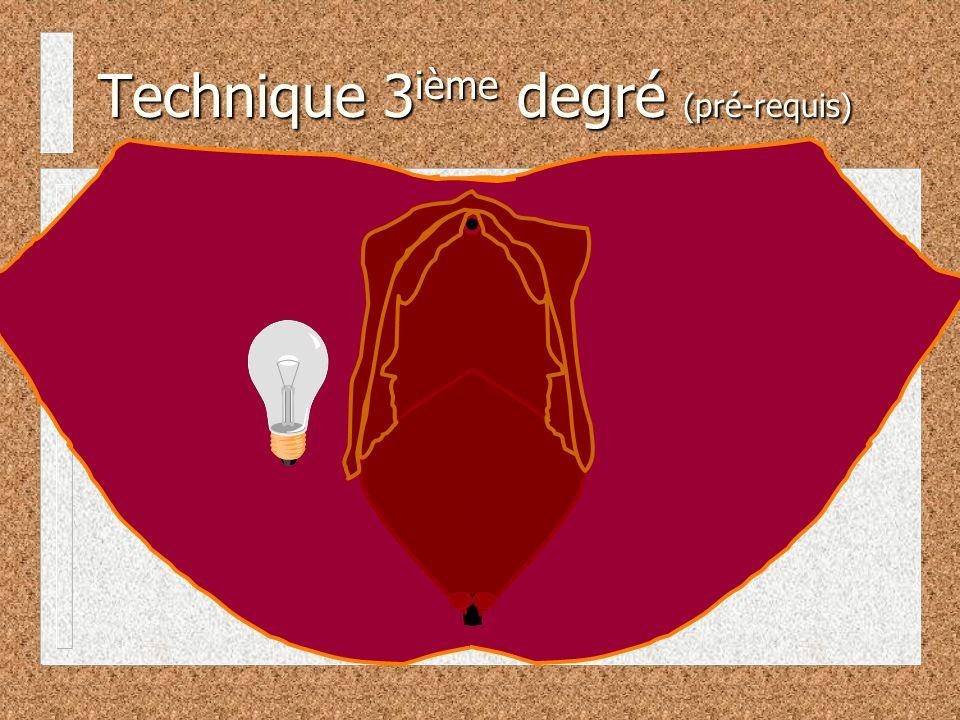 Technique 3 ième degré (pré-requis)