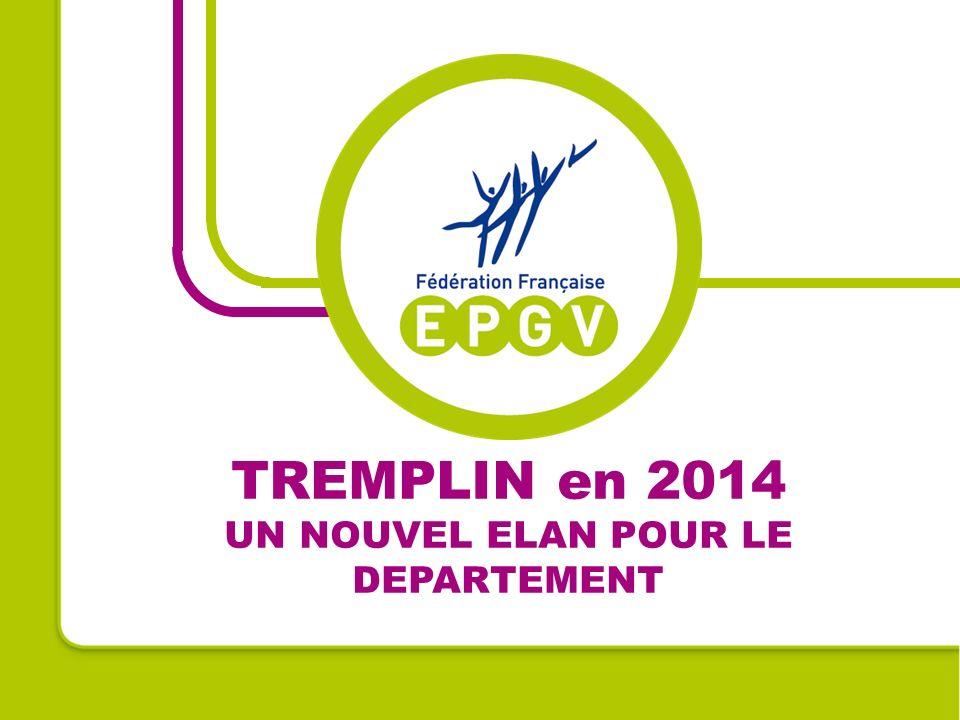 TREMPLIN en 2014 UN NOUVEL ELAN POUR LE DEPARTEMENT