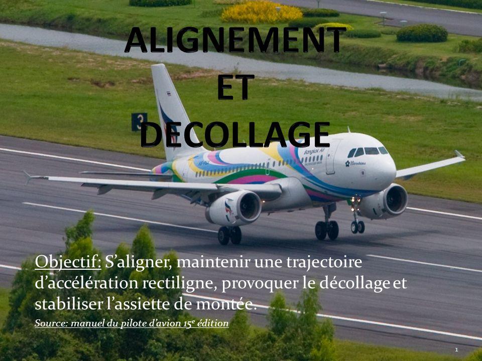 Alignement et décollage Utilité: Maîtriser la procédure de décollage en toute sécurité 2