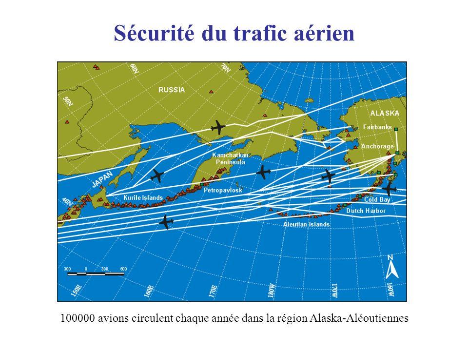 100000 avions circulent chaque année dans la région Alaska-Aléoutiennes Sécurité du trafic aérien