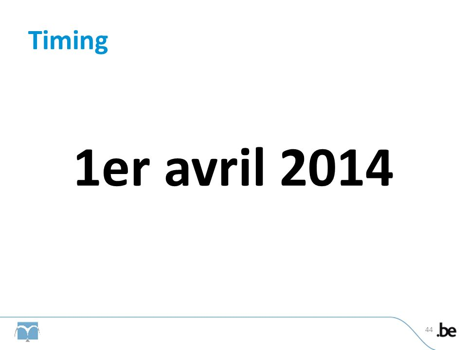 Timing 1er avril 2014 44