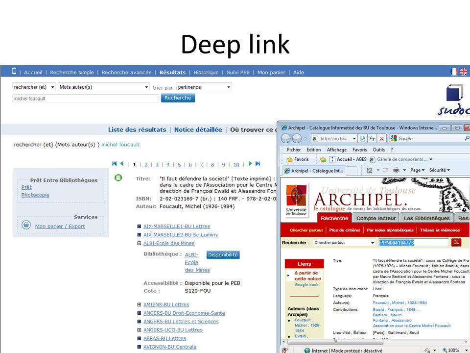 Deep link 13