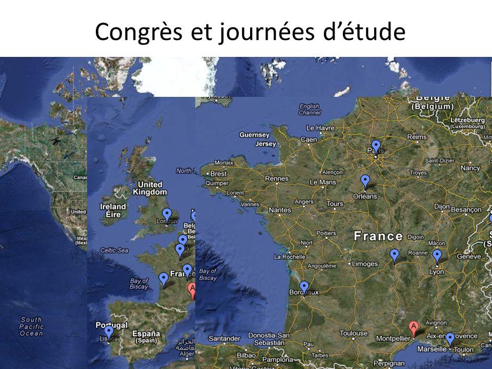 Congrès et journées détude 29