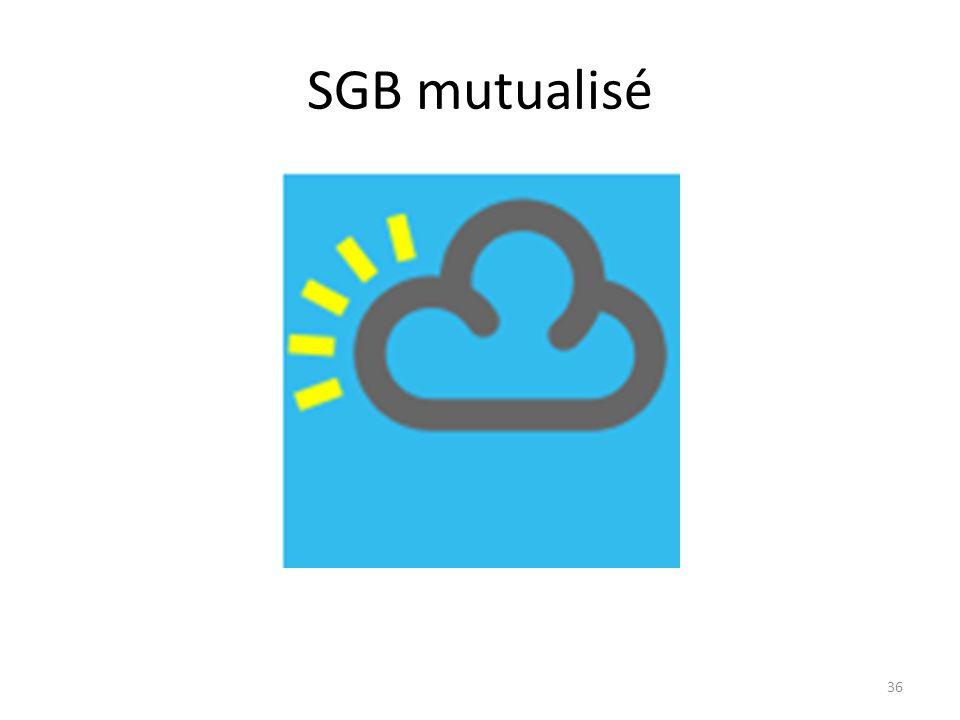 SGB mutualisé 36