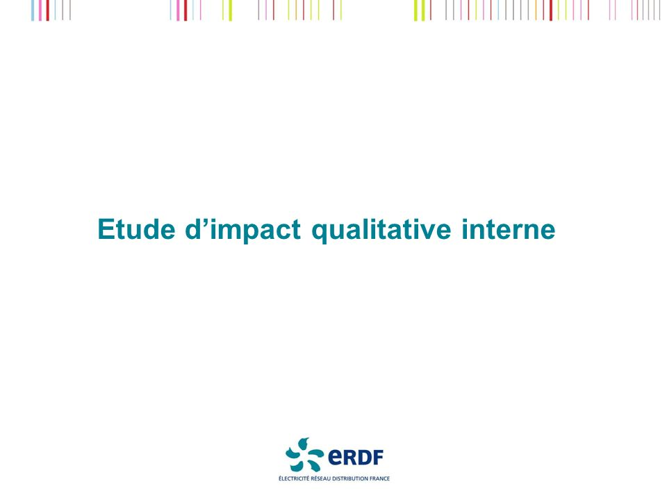 Etude dimpact qualitative interne