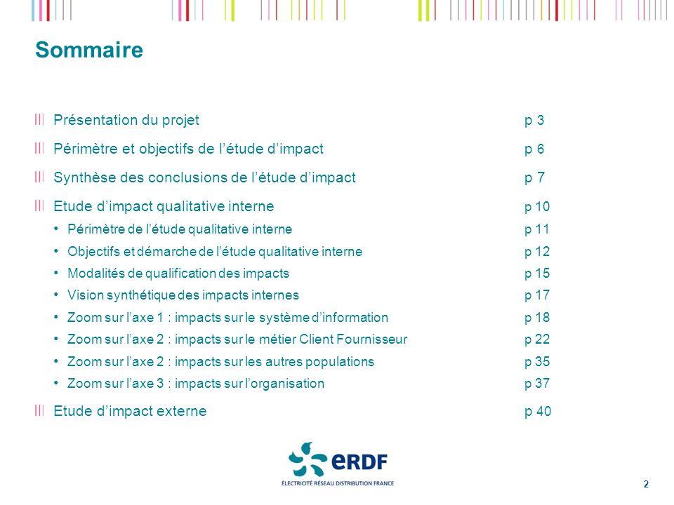 Démarche de létude dimpact interne (2/3) 13 Analyse des impacts du remplacement de Disco par efluid Méthode : un chantier Adéquation aux besoins Métiers a été mené.