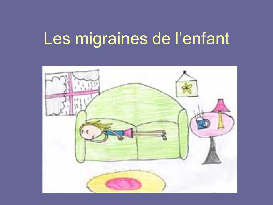 Les migraines de lenfant
