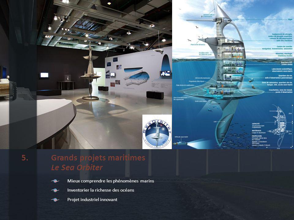 Major projects Sea Orbiter 5.
