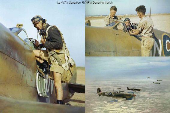Le 417th Squadron RCAF à Goubrine (IWM)