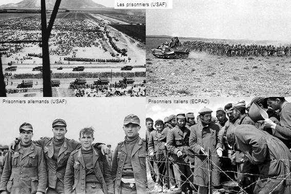 Les prisonniers (USAF) Prisonniers allemands (USAF)Prisonniers italiens (ECPAD)