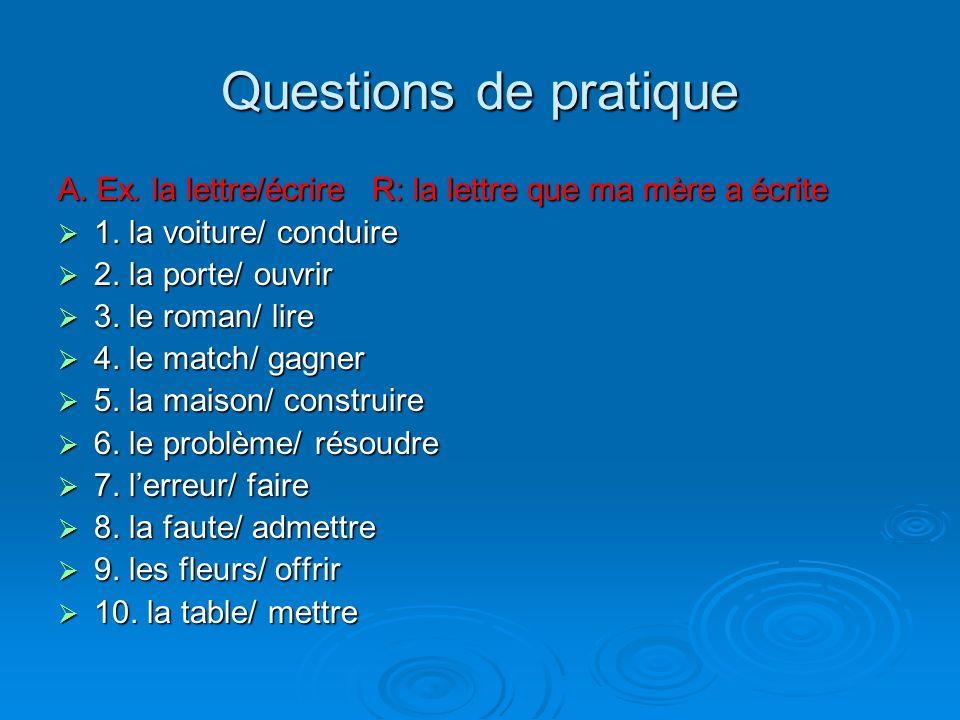 Comment accorder le participe passé (auxiliaire avoir) verbes qui ne sont pas précédés dun COD ex. Ils ont beaucoup étudié. ex. Ils ont beaucoup étudi