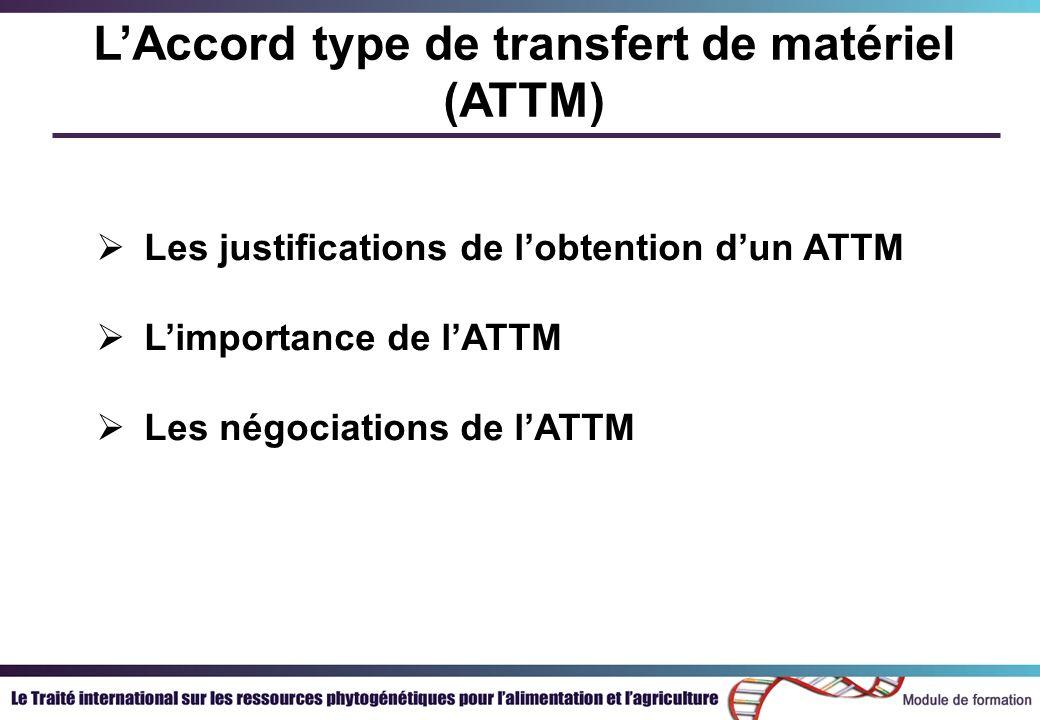Lexpérience de lATTM à ce jour Centres du GCRAI Guide des Centres Résumés FAQ Pays Programmes mixte FAO/Bioversity Systèmes dinformation Assistance