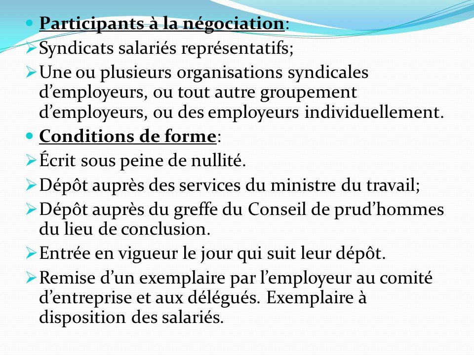 Contenu: Dispositions plus favorables se substituent à celles du contrat de travail Pas de dérogation aux dispositions dordre public.