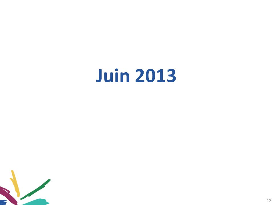 12 Juin 2013