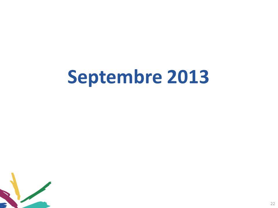 22 Septembre 2013
