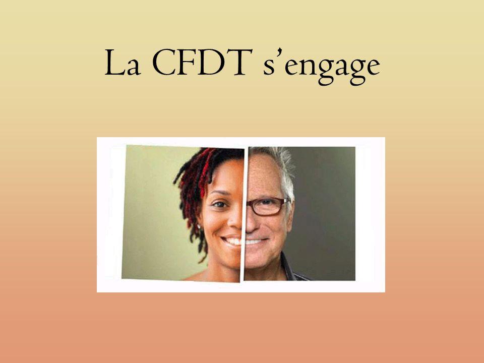 La CFDT sengage