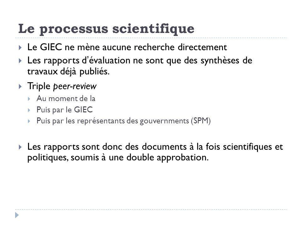 Commentaires et critiques Les rapports du GIEC, évangiles de la science du climat .