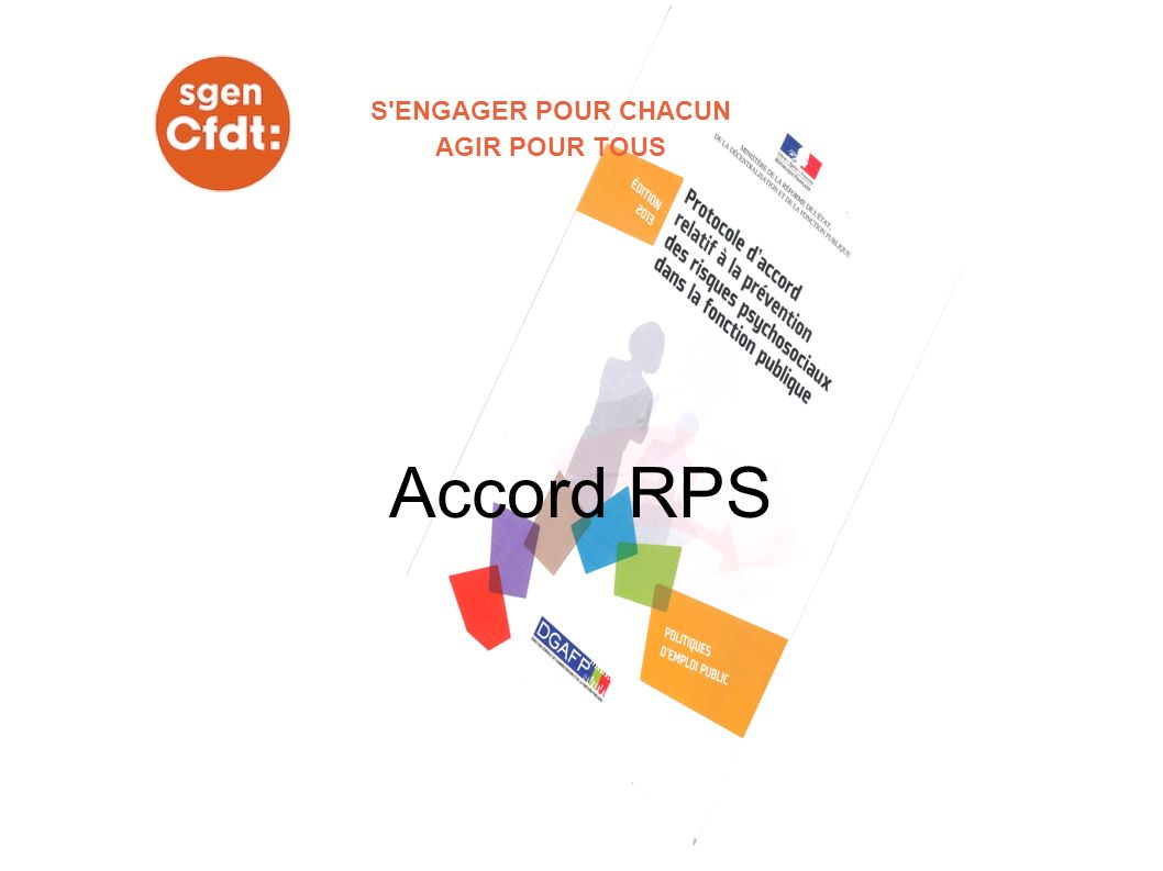 Accord RPS S ENGAGER POUR CHACUN AGIR POUR TOUS