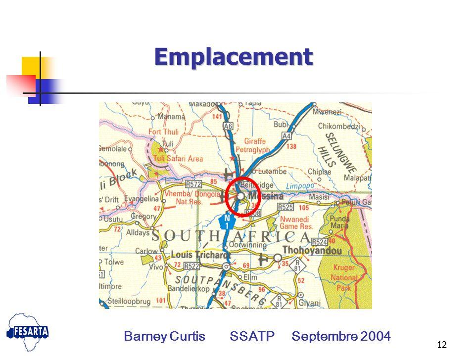12 Emplacement Barney Curtis SSATP Septembre 2004