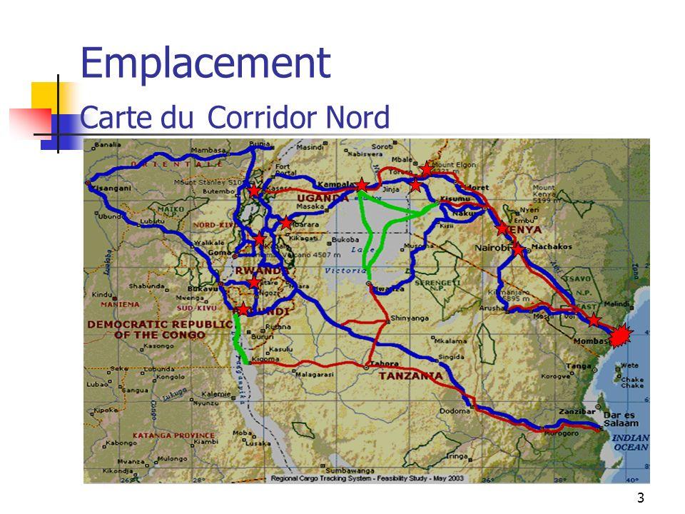 3 Emplacement Carte du Corridor Nord