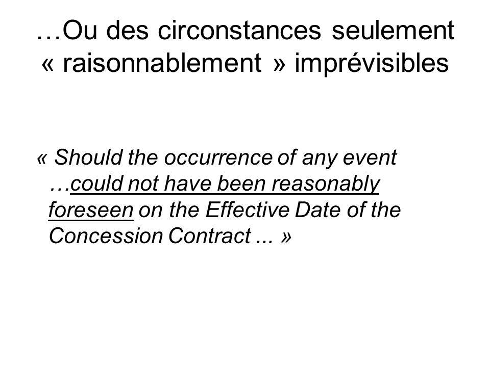 HARDSHIP / Echec Négociations Si les négociations naboutissent pas dans ce délai la partie qui invoque le bénéfice du présent article pourra demander la désignation conjointe dun arbitre unique à désigner dans un délai de 15 jours.