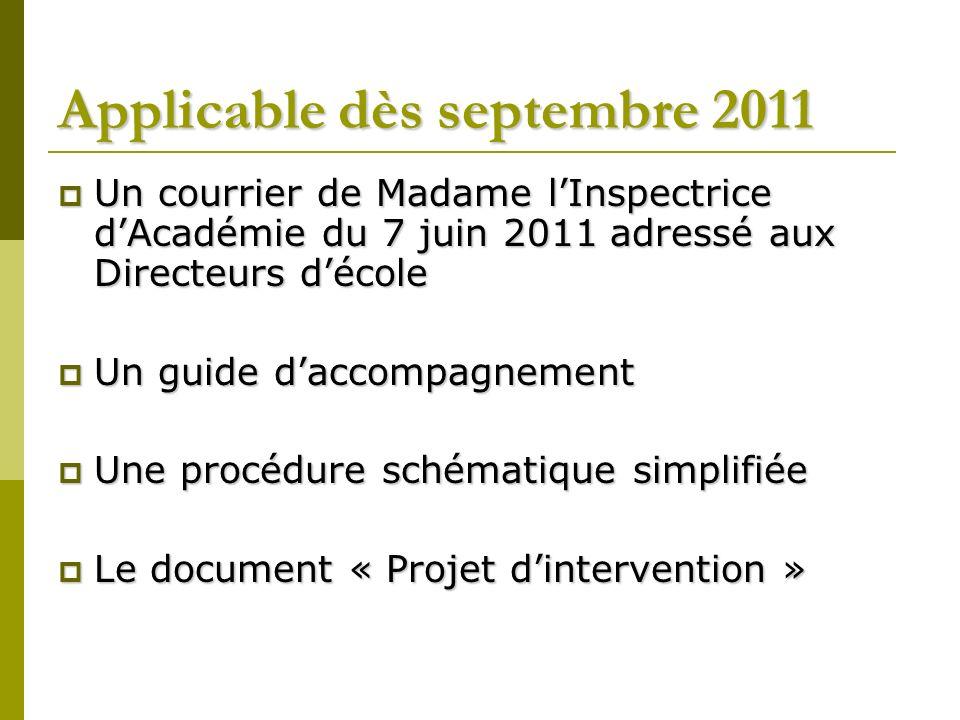 Les objectifs du PI Simplifier les démarches des écoles en recourant à un document unique quelque soit le domaine dactivité.