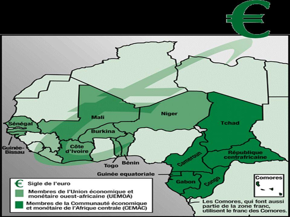 Lévolution des échanges commerciaux Après la domination coloniale de lAfrique, les pays européens, France en tête, ont mis en place de nombreux moyens de conserver un rapport de force à leur avantage.