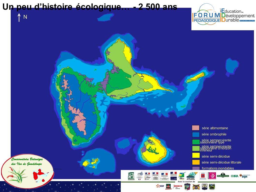 Un peu dhistoire écologique… - 2 500 ans