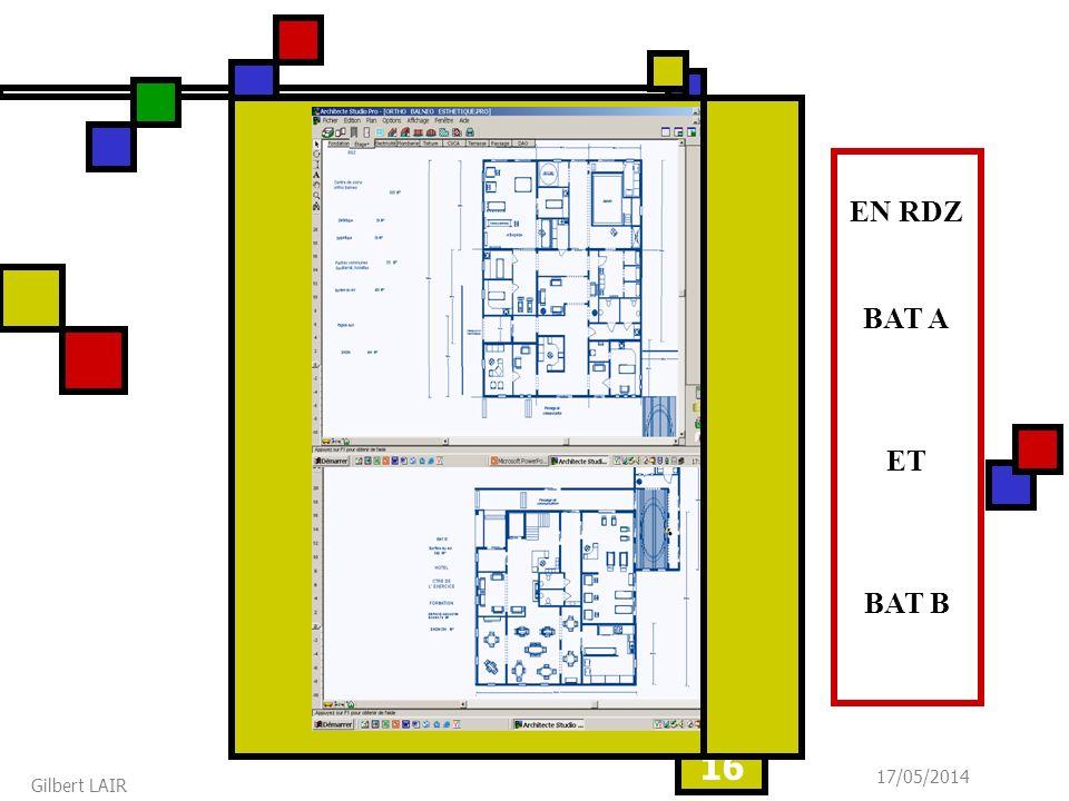 17/05/2014 Gilbert LAIR 16 EN RDZ BAT A ET BAT B
