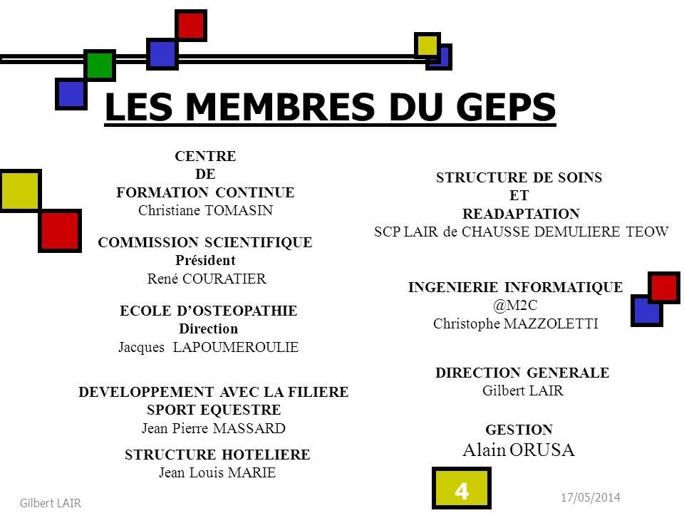 17/05/2014 Gilbert LAIR 25 EXMPLE DAMENAGEMENT DE LA STRUCTURE HOTELIERE