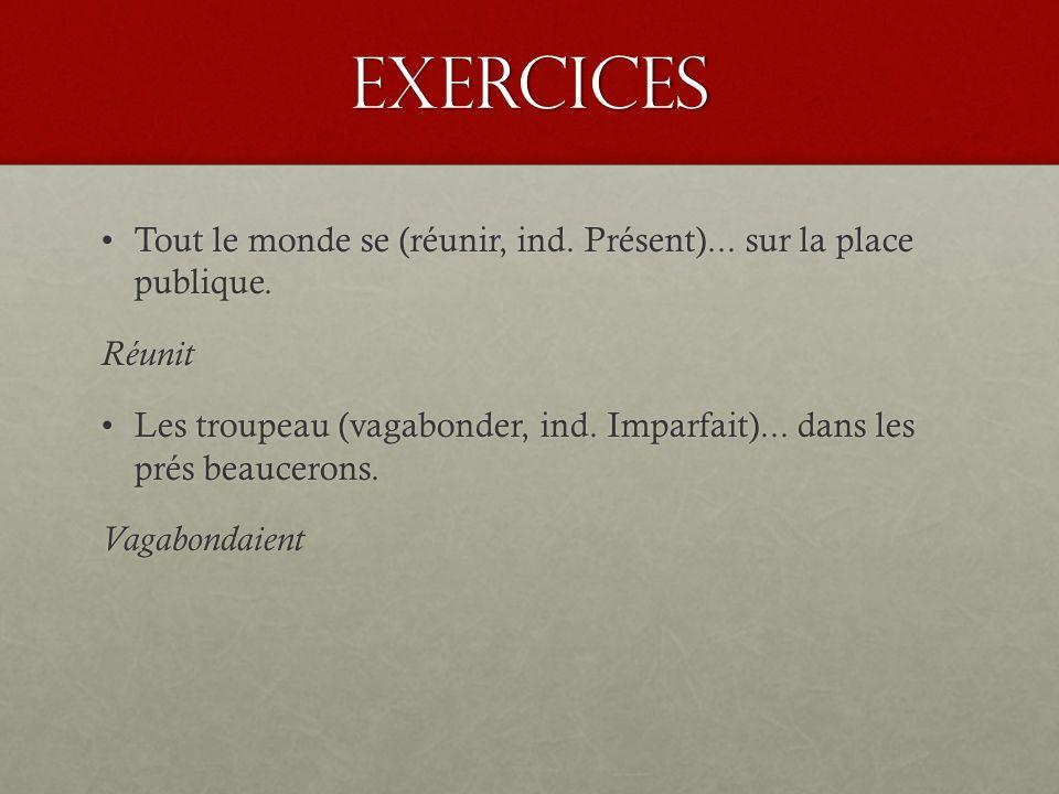 Exercices http://public.sogetel.net/rthibaudeau/Francais/Chap_15d.htm