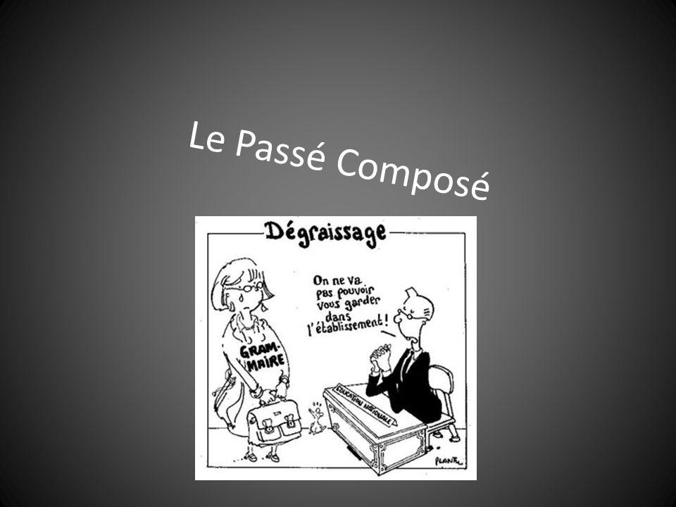 Le Passé Composé avec AVOIR A.