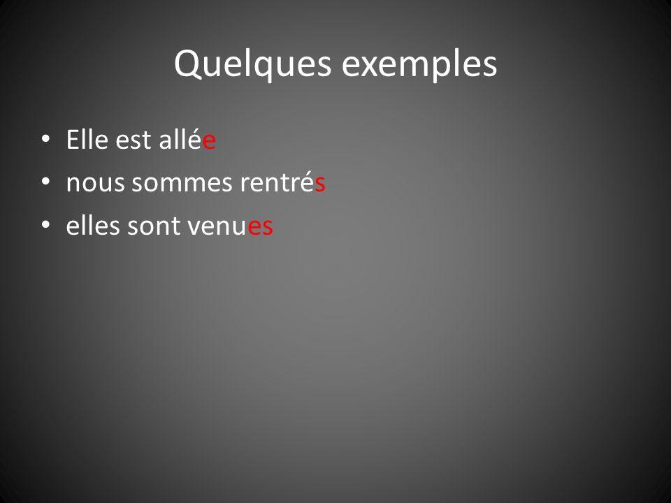 Les verbes pronominaux Les verbes pronominaux se conjuguent avec être aussi.