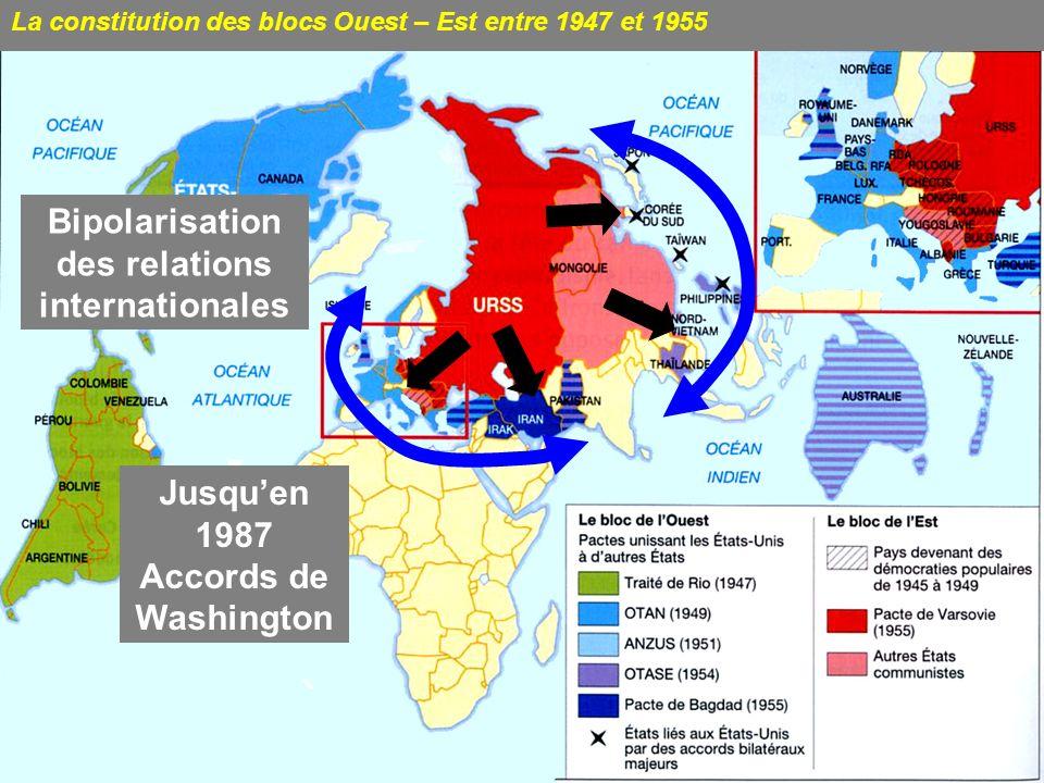 1949 = Chine communiste Chine = relai du soutien au Vietminh 1949 = début Guerre froide