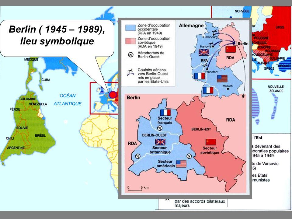 B. 1949 – 1963:un affrontement continu entre lEst et lOuest