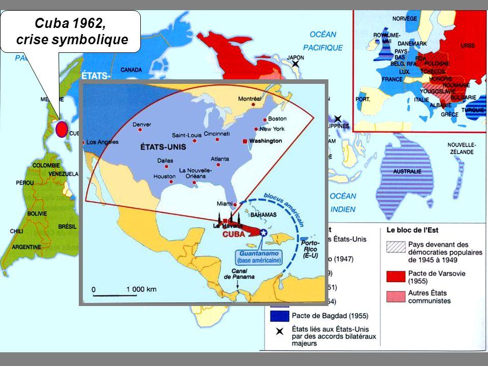 Retrait des missiles soviétiques dirigés vers E.U.