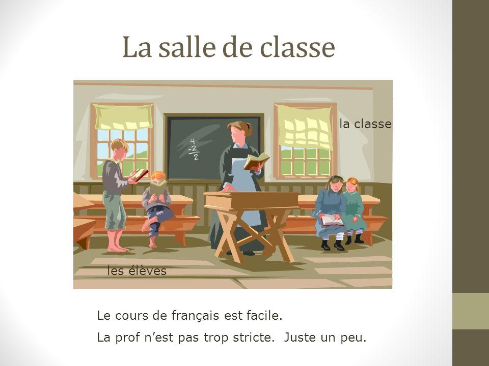 En cours de français Salut les copains.Nous sommes américains.