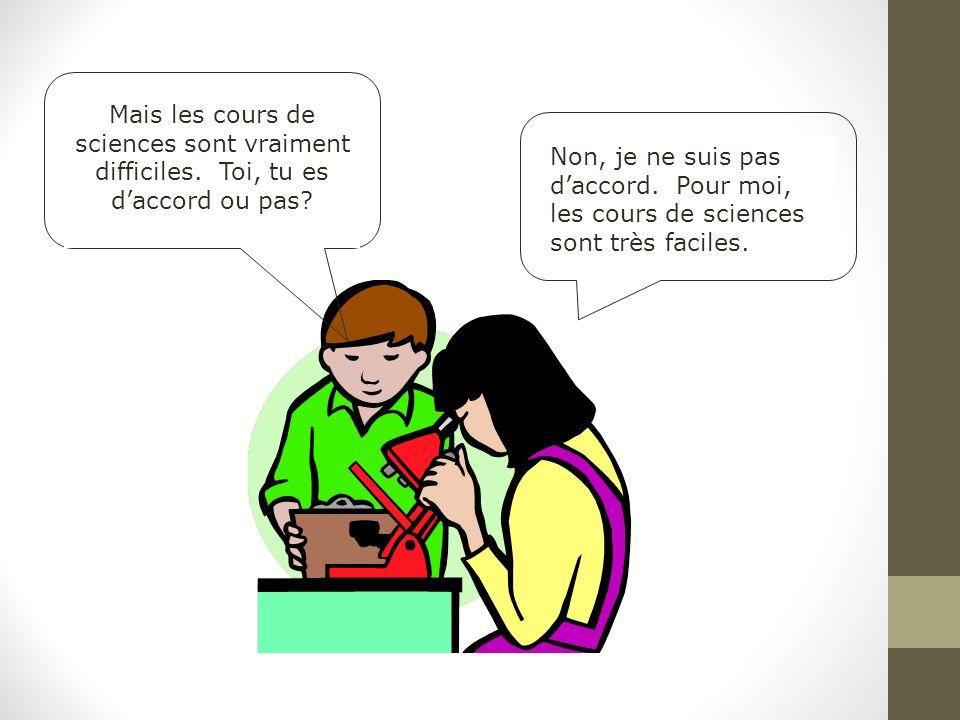 Mots 1 Les élèves et les profs Les professeurs (les profs) Le prof La prof Les amis Les copains Les amies Les copines Karine et Stéphanie sont françaises.