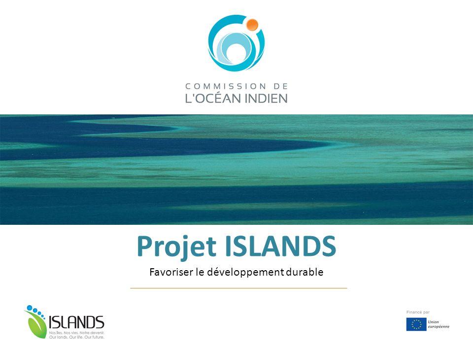 Projet ISLANDS Favoriser le développement durable