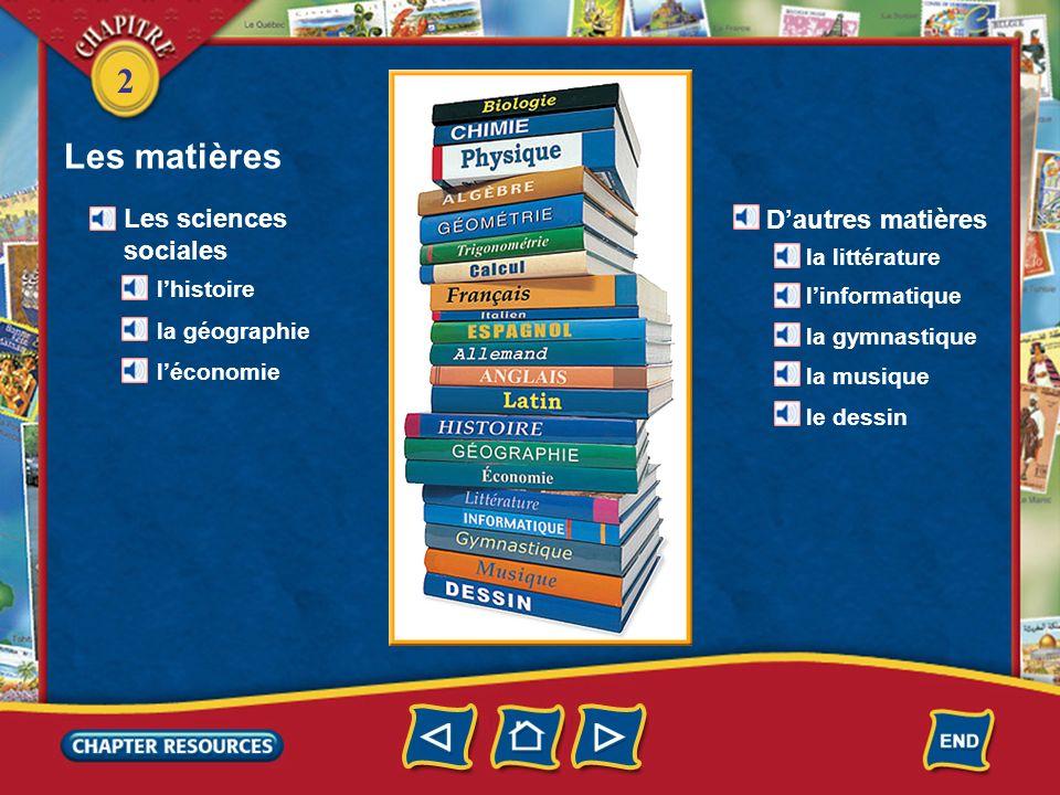2 Vocabulaire Identifying a person or thing un lycée un copain une copine un professeur un(e) prof a teacher a friend a high school (French–English)