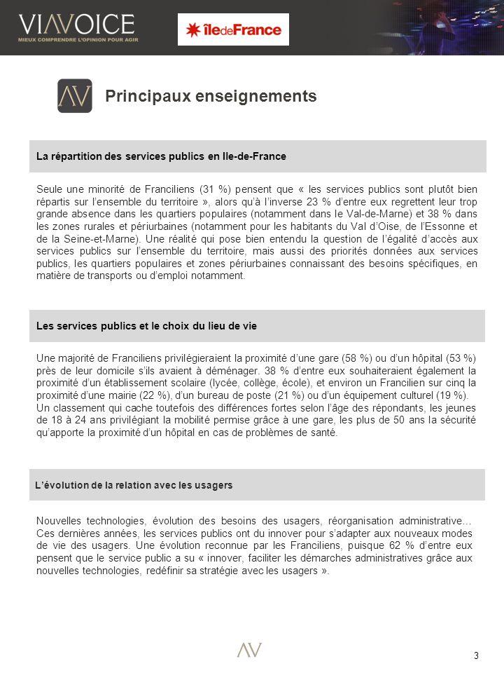 3 Une majorité de Franciliens privilégieraient la proximité dune gare (58 %) ou dun hôpital (53 %) près de leur domicile sils avaient à déménager.