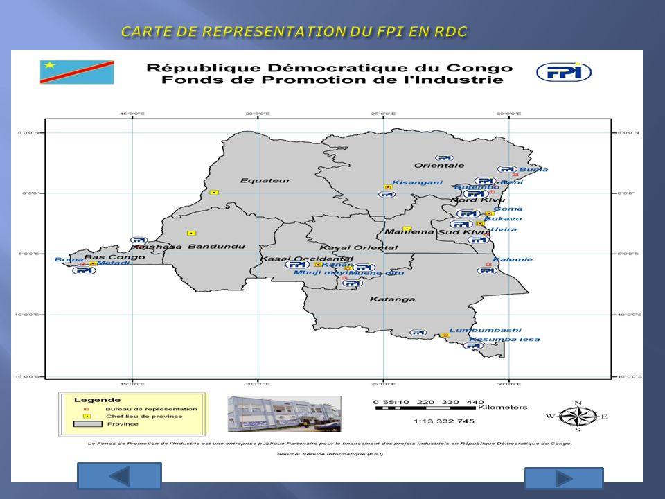 PROTOCOLE DACCORD Le protocole daccord définit le rôle de chacune des parties dans le processus didentification et dévaluation des projets ainsi que les conditions du co-financement; Pour ce faire, les projets qui auront été identifiées par la FEC et le FPI, à travers une sélection rigoureuse, pourront bénéficier dun co- financement BIO/FPI pour leur modernisation sils répondent aux exigences de la croissance économique de notre pays, la RDC;