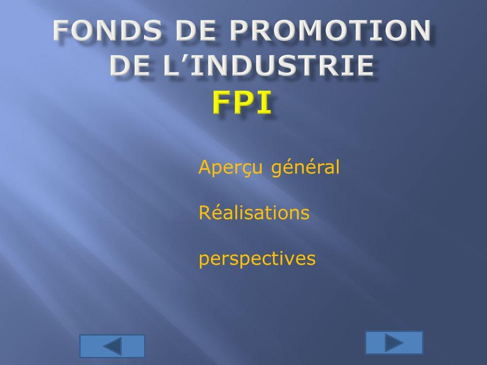 REALISATION/CONSTATS Sur lensemble des projets proposés à ce guichet deux ont retenu la particulière attention du partenariat BIO-FPI.