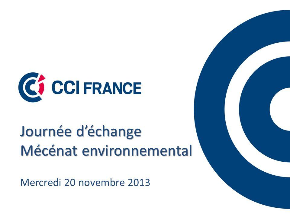 Journée déchange Mécénat environnemental Mercredi 20 novembre 2013