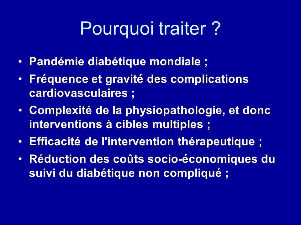 25 Le contrôle glycémique strict améliore-t-il Le pronostic cardiovasculaire .