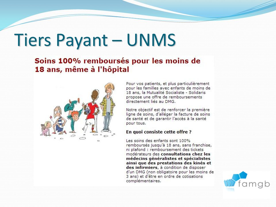 Tiers Payant – UNMS