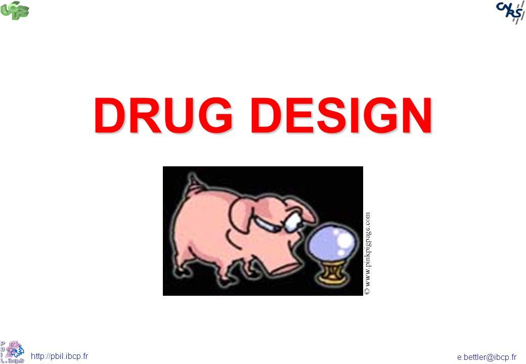 e.bettler@ibcp.fr http://pbil.ibcp.fr DRUG DESIGN © www.pinkpigpage.com