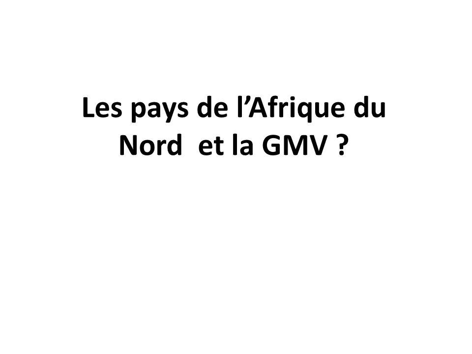 Les pays de lAfrique du Nord et la GMV ?