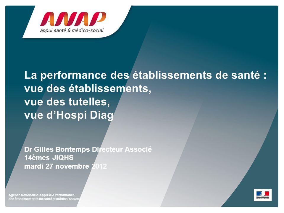 Agence Nationale dAppui à la Performance des établissements de santé et médico-sociaux La performance des établissements de santé : vue des établissem
