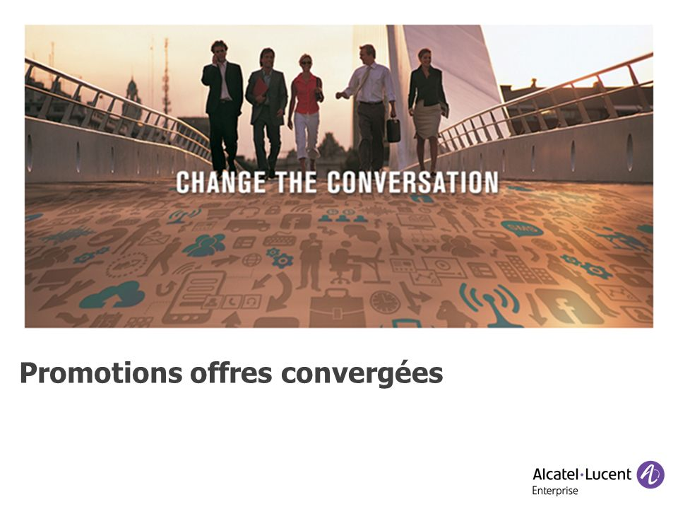 Promotions offres convergées